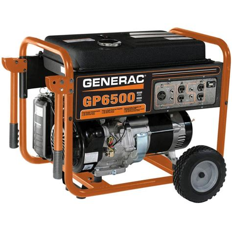 Generac Portable Generator Shed by Generac Power Systems 5623 0 6500w Portable Generator At