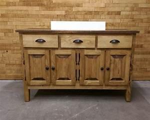 vanite de salle de bain sur mesure meuble salle de bain With meuble lavabo bois massif