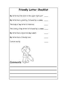 Writers' Workshop: Letter Writing Templates & More-Grade 1