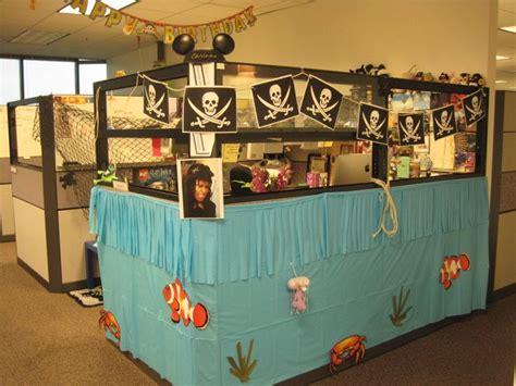 awesome cubicle  ideas decor pirate ship cool office