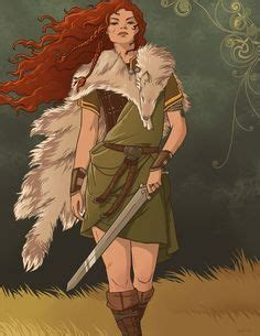 Scáthach, ancient Scottish warrior-woman and instructor ...