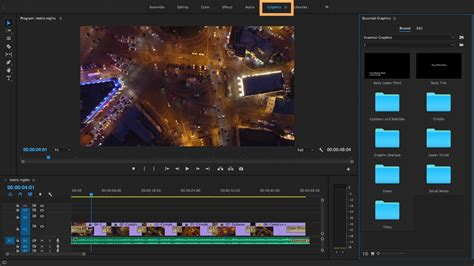 titles adobe premiere pro cc 2017 template create titles and graphics with the essential graphics