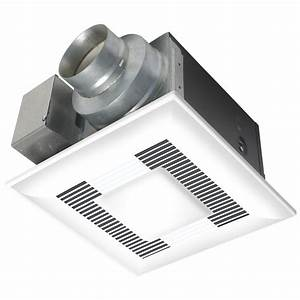 Panasonic Deluxe 110 Cfm Ceiling Exhaust Fan With Cfl