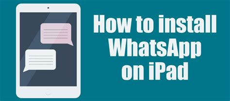 how to install whatsapp on