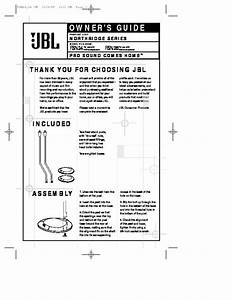 Jbl Fsn 26 User Guide    Operation Manual  U2014 View Online Or