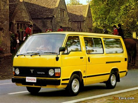 Toyota Hiace Wallpapers by Toyota Hiace Combi Uk Spec 1982 89 Wallpapers 640x480