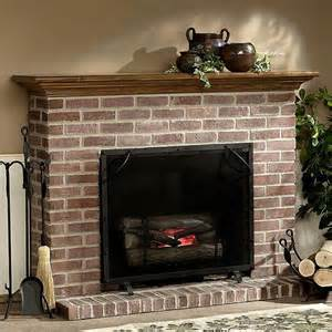 Brick Fireplace Mantel Designs