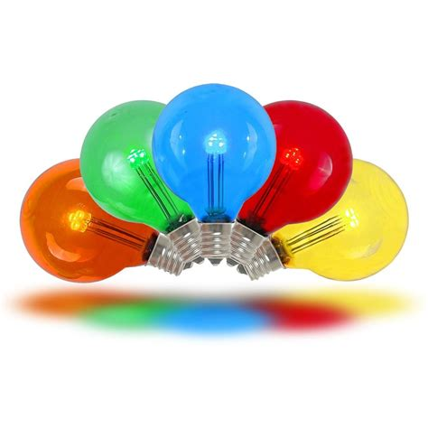 white led lights green wire multi colored led g30 glass globe light bulbs novelty lights