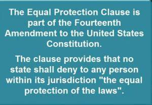 No. 14 -The Long Lost Beauty of Equal Protection Before ...