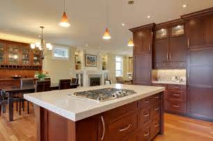 kitchen islands with cooktops cherry kitchen traditional kitchen other metro by