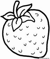Fruits Drawing Colouring Fruit Outline Coloring Pages Getdrawings sketch template