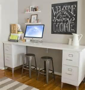 diy corner desk with file cabinets best 25 file cabinet desk ideas only on