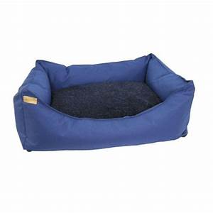 earthbound rectangular removable waterproof blue dog bed With blue dog furniture