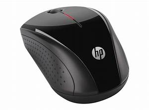 Hp X3000 Black Wireless Mouse
