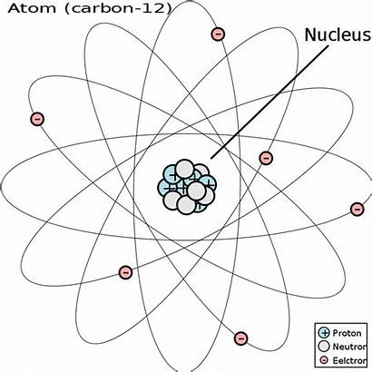 Atom Carbon Diagram Vector Structure Atomic Drawing