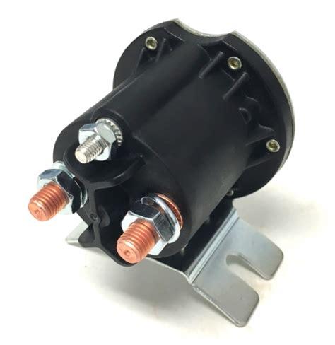 electric motor start solenoid  mte hydraulic power units
