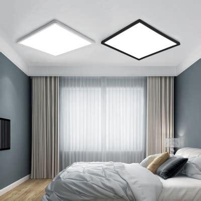 minimalist energy saving  led square flush ceiling