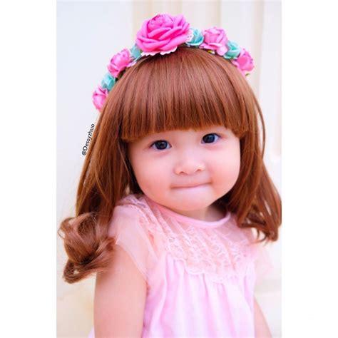 imutnya belle bayi perempuan berambut indah  hebohkan