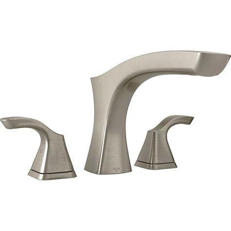 bathtub trim kit delta tesla 2 handle deck mount tub faucet trim kit