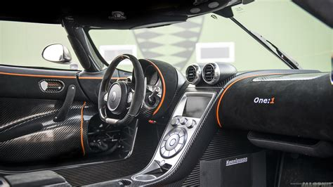 Koenigsegg Agera One Interior Wallpaper