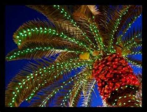 tropical christmas palm tree christmas decor