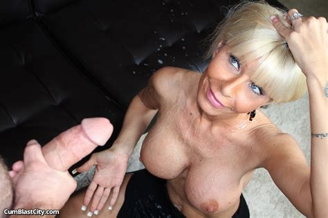 Sexy Milf Kasey Storm Gets Her Big Tits Spunked On 2 Of 2