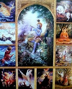 The Ten Avatars Of Vishnu | 10 avatars of lord vishnu ...