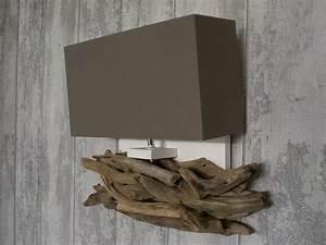 Applique Murale Bois Flotté : applique bois ~ Teatrodelosmanantiales.com Idées de Décoration