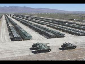 US Military WORLDS LARGEST m1 Abrams Tank Stockpile ...