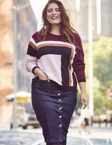 Look Femme Ronde 2017 : jupe grande taille les plus beaux mod les automne hiver 2017 2018 pour sublimer vos formes ~ Mglfilm.com Idées de Décoration