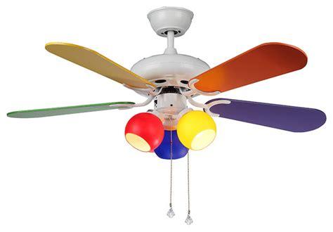 multi fan ceiling modern multi color ceiling fan 3 colorful lights