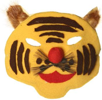 tiger mask craft  kids
