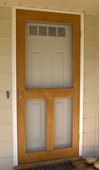 wooden screen doors the runnerduck screen door plan is a step by step