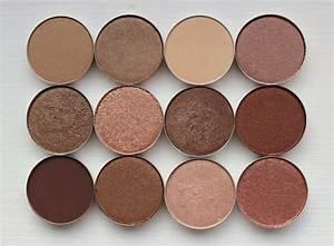 MAC eyeshadow swatches - Soba / Woodwinked / Ricepaper ...