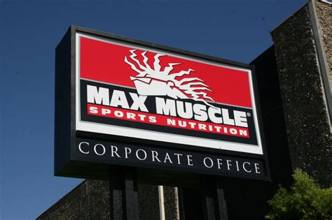 Max Muscle Signage, Orange, Ca