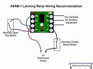 Dayton Latching Relay Wiring Diagram