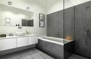 Implantation Salle De Bain : une douche ou une baignoire dans la salle de bain info ~ Dailycaller-alerts.com Idées de Décoration