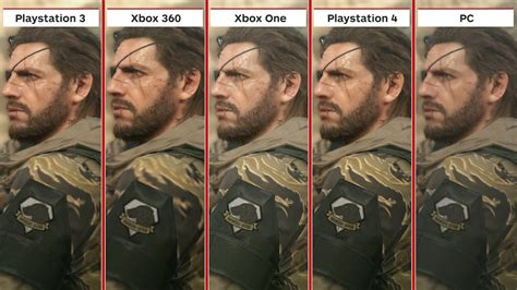 Siege Xbox 360 - metal gear solid 5 the phantom graphics comparison