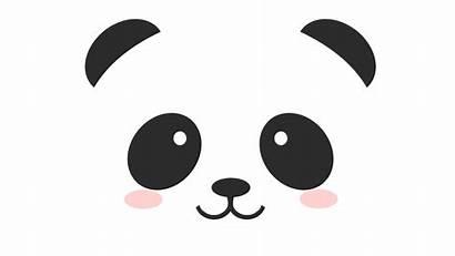 Panda Wallpapers Face Cartoon Drawings Drawing Faces