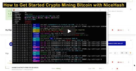 What is bitcoin mining software? How to Start Crypto Mining Bitcoins, Ethereum with Your Desktop PC, Laptop with NiceHash :: The ...