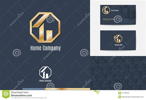 House Logo Business Card Vector Illustration Business Cards Wholesale Uk Invitation Card Template Word Us Bank Credit Green Owners Vertical Folded Mock-up Apec Travel For Citizens Transparent Vistaprint University Of Illinois Holder