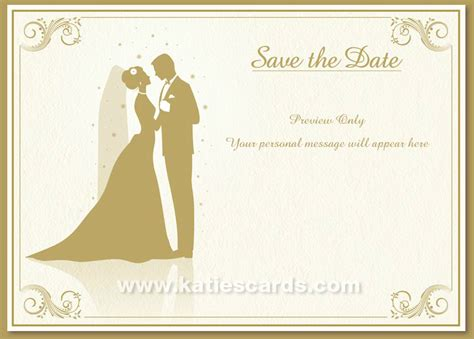 katies cards launches brand  save  date wedding