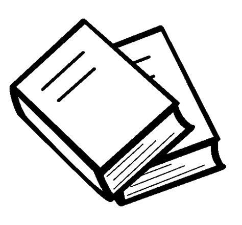 Dibujo de Libros para Colorear Dibujos net