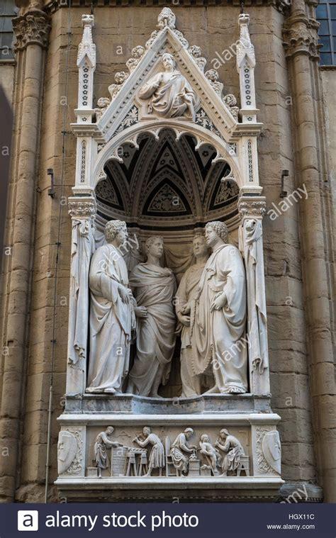 Nanni Di Banco Florenz Italien Skulptur Der Quot Vier Gekr 246 Nte Meister