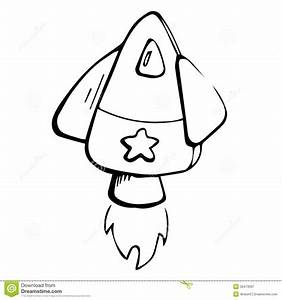 Rocket Ship Black And White Clipart - Clipart Suggest