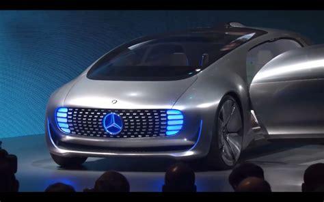mercedes unveils  car   future video cnet