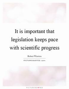 Scientific Prog... Importance Of Progress Quotes