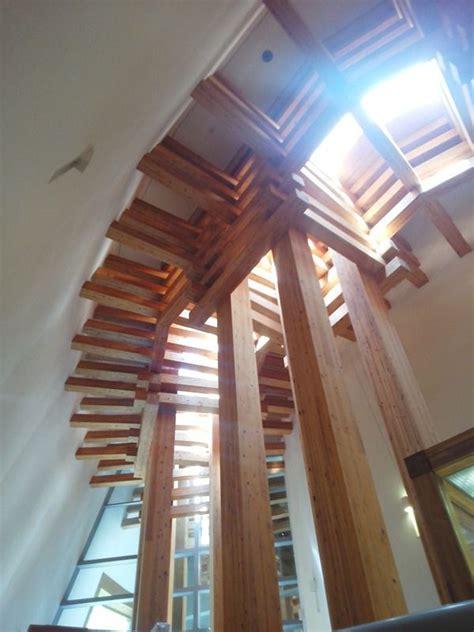museum  wood culture  tadao ando design visit kinosaki