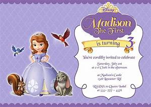 19 best images about princess party on pinterest cute With sofia the first free invitation templates