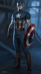 Marvel Captain America Concept Art